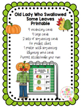 Old Lady Who Swallowed Some Leaves