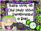 There Was an Old Lady Who Swallowed a Bat Retelling Pack