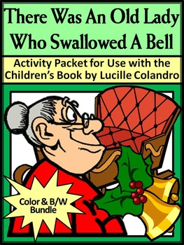 Christmas Activities: Old Lady Who Swallowed a Bell Christ