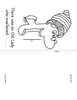 Old Lady Who Swallowed a Bell~Literacy Companion & Fun Activities!!