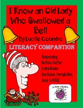 Old Lady Who Swallowed a Bell~Literacy Companion & Fun Act