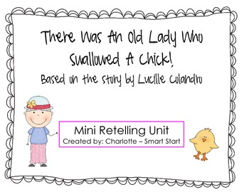 Old Lady Who Swallowed a Chick Retelling
