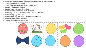 Old Lady Who Swallowed a Chick Speech/Language Activity Pack
