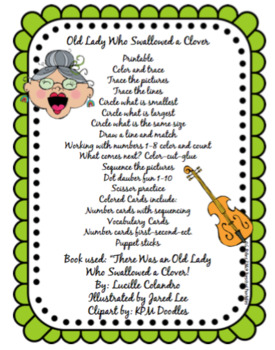 Old Lady Who Swallowed a Clover