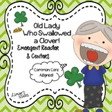 Old Lady Who Swallowed a Clover Emergent Reader & Centers