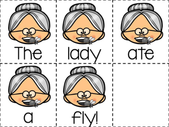 Lady Who Ate a Fly