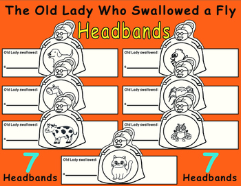 Old Lady Who Swallowed a Fly--Headbands
