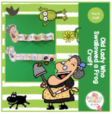 Old Lady Who Swallowed a Frog Craft