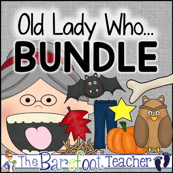 Old Lady Who Swallowed a Leaf and Bat Double Bundle