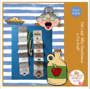 Old Lady Who Swallowed a Pie Craft