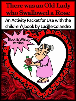 Valentine's Day Language Arts Activities: Old Lady Who Swallowed a Rose Packet