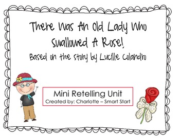Old Lady Who Swallowed a Rose Retelling