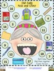 Old Lady and Books- 3 Roll and Cover Games {FREE}