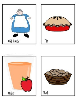 Old Lady who Swallowed a Pie Lit. Companion; LOTS of fun activiites!!