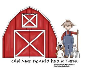 Old Mac Donald File Folder Games/Sing Along