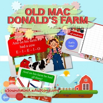 Old Mac Donald's Farm (w/ graphing activity)