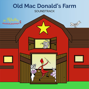 Old Mac Donald's Farm Songs to Sing - Instant Download