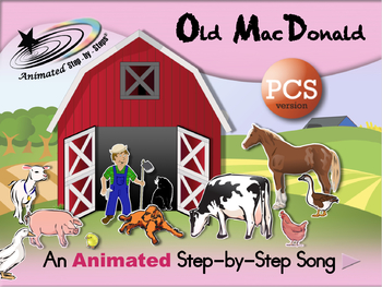 Old MacDonald - Animated Step-by-Step Song - PCS