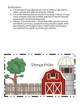 Old MacDonald Farm Bulletin Board Helper