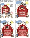 Old MacDonald Farm Classroom Rules Signs