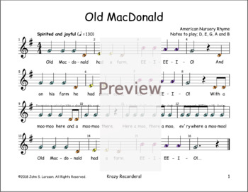 Old MacDonald Had A Farm - Boomwhackers® Songs