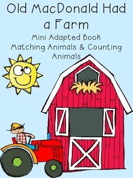 Old MacDonald Had a Farm Adapted Books
