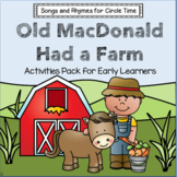 Old MacDonald Had a Farm - Songs and Rhymes for Circle Time