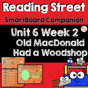 Old MacDonald Had a Woodshop SmartBoard Companion Kindergarten