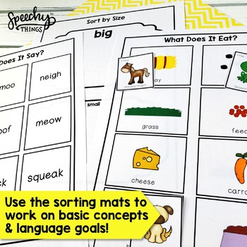 Old MacDonald Had a Farm Activity - Basic Concepts - Preschool Speech Therapy