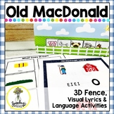 Old MacDonald Interactive Song Packet - Speech and Languag