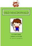 Old MacDonald Literacy Activities
