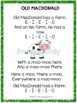 Old MacDonald Poetry Packet