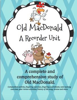 Old MacDonald Recorder Unit