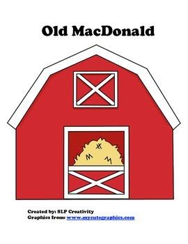 Old MacDonald Song Board