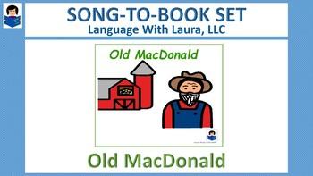 Old MacDonald - Song-to-Book Set [speech therapy and autism]