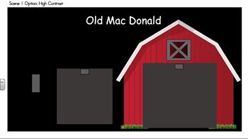 Old MacDonald Vest Display - Simple - PCS