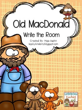 Old MacDonald Write the Room