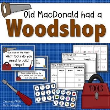 Old MacDonald had a Workshop KINDERGARTEN Unit 6 Week 2