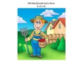 Old MacDonald had a farm (interactive material)