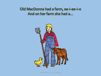 Old MacDonna Had a Farm (Song Routine)