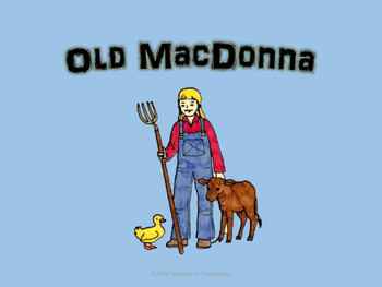 Old MacDonna Had a Farm (Song Routine)