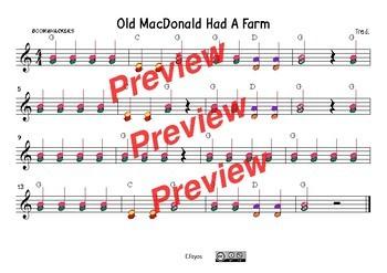 Old Macdonald had a farm Score