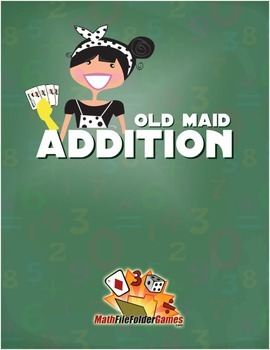 Old Maid Addition {Math Game}