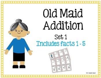 Old Maid Addition Set 1