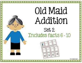 Old Maid Addition Set 2