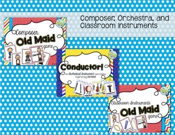 Music Old Maid Card Bundle