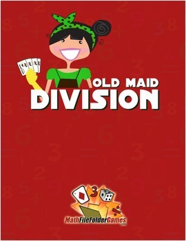 Old Maid Division {Math Game}