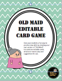 Old Maid Editable Card Game