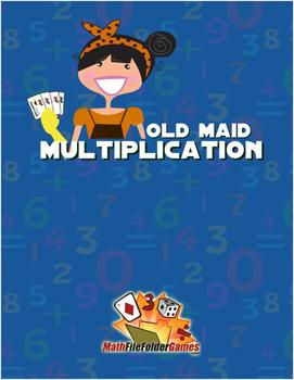 Old Maid Math {Addition, Subtraction, Multiplication & Division Game}