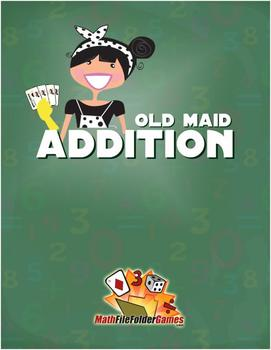Old Maid Math {Addition, Subtraction, Multiplication & Div